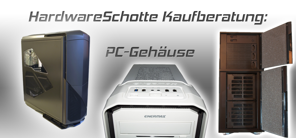 Die besten PC-Gehäuse bis 100 Euro