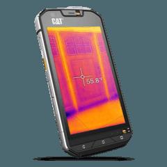 Cat S60 Erstes Smartphone mit Wärmebildkamera